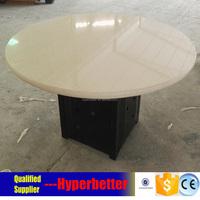 Quartz table circle 150cm for restaurant