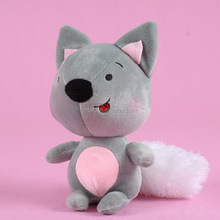 Wholesale new coming cartoon fox animal stuffed toy for baby