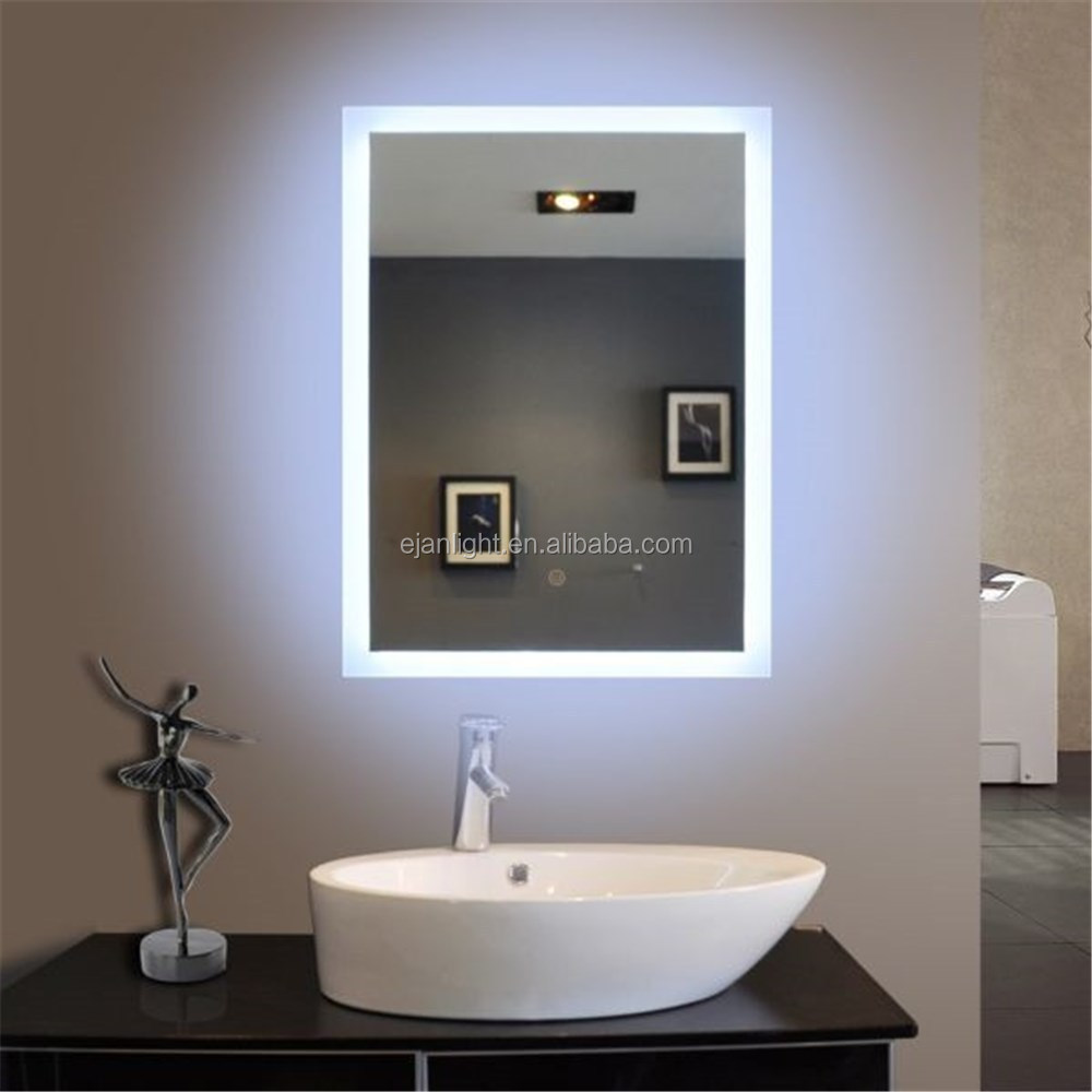 Luxury Wall Mirrors Wash Basin Mirror Modern Bathroom Light Mirror Made In