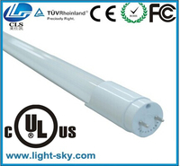 Full PC cover t8 18w led fluorescent tube light