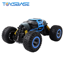Double Sided 2.4GHz Remote Control Stunt Climbing Car RC Rock Crawler 1/10