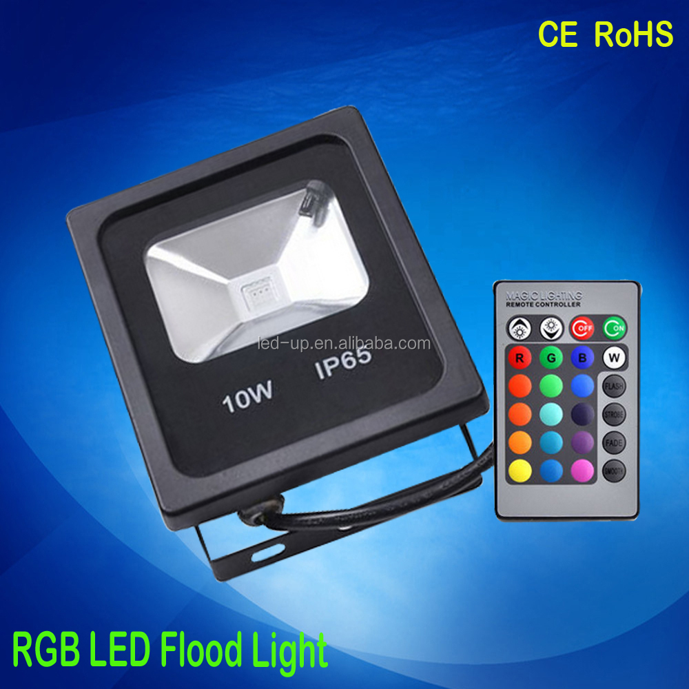 New products led fixture RGB floodlight led light for outside wall color decoration