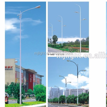 Hot sale ! price cheap led single-arm street lighting pole