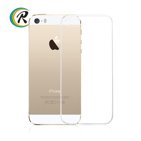 Ultra thin silicone tpu cover case for iphone 4 4s 5 5s 6s 6plus for apple iPhone 5 mobile phone flip case
