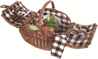straw basket laundry basket christmas decoration laundry basket with stand