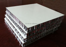 Exterior wall cladding light weight panel aluminum honeycomb core composites