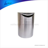Nice Design metal garbage cans wheels