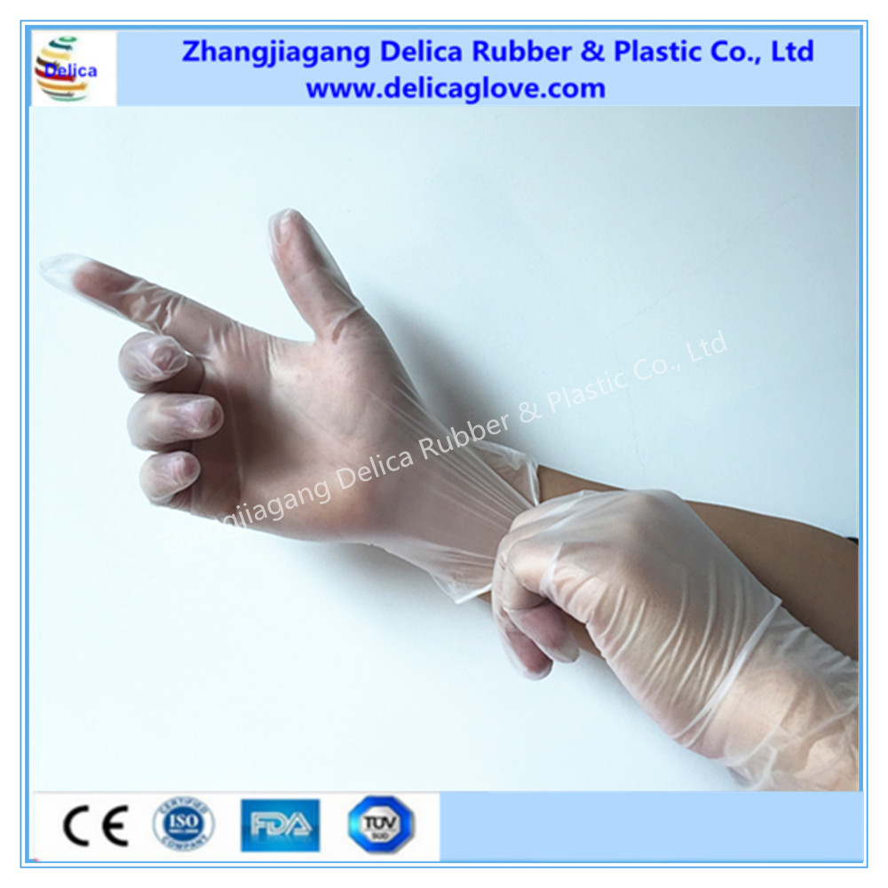 Disposable White Vinyl Gloves Disposable Colored Vinyl Gloves for Salon Care