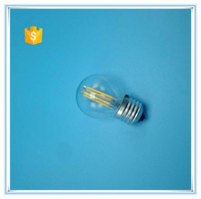 G45 E14 E27 LED filament bulb with CE ROHS ERP certificate