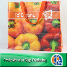 100% Recycled Material eco-friendly pp woven big shopper bag