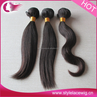 Fast shipping Brazilian natural cheap human hair extension 90cm on sale