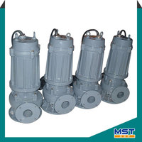 Small submersible water pump for agricultural irrigation