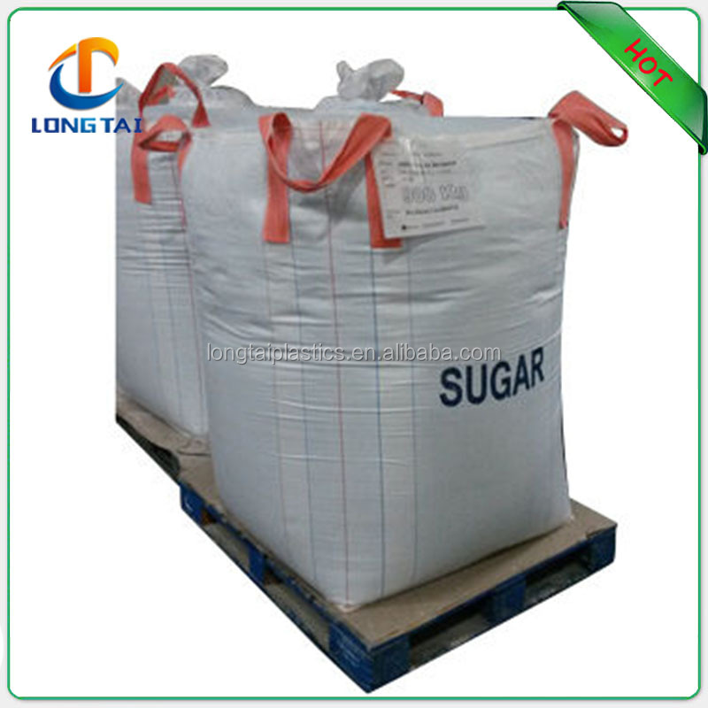 Top fill skirt 100% PP jumbo bag for powder and coal, China Supplier Best Price 1 Ton Jumbo Bag with Cross Corner