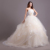 2019 New design Custom Made lace Wedding Dress Champagne Color Ball Gown Tulle Bridal dresses Lovely simple wedding gowns