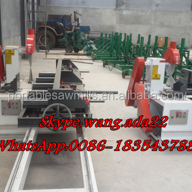 Double Blade Sawmill Vertical Circular Saw Sawmill Machinery Used