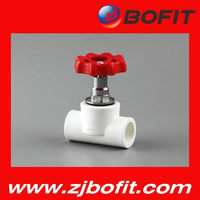 Factory direct price ppr hot fusion brass stop valve use good material