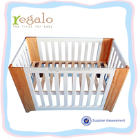 custom made 3 types of wood baby crib