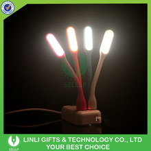 Eco-Friendly Handy Flexible Laptop Silicone USB Light