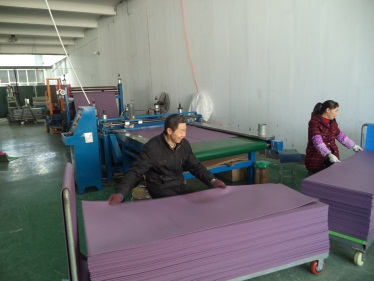 Slitting (yoga mat)