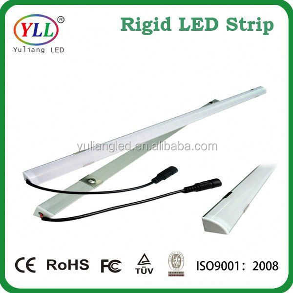 high brightness aluminum waterproof 12v 5050 smd rigid led strip led ribbon rigid led strip 8520