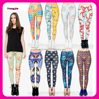 alibaba de wholesale young girls tights custom digital printed sexy ladies leggings