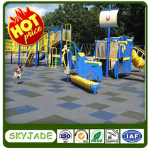 40mm rubber tiles for kids' playground