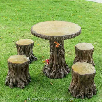 home decoration toadstool garden outdoor table and chair