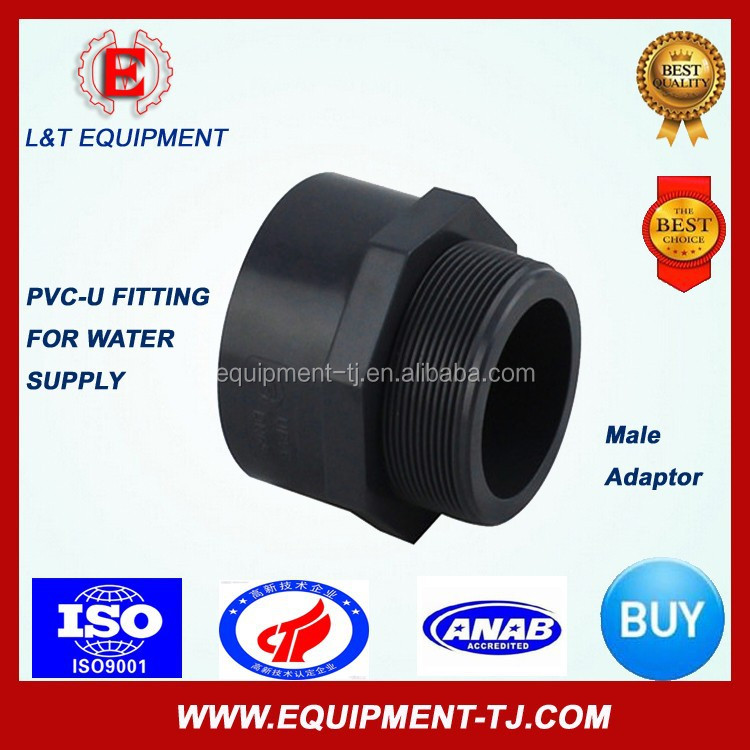High Quanlity (ASTM) UPVC Male Adaptor