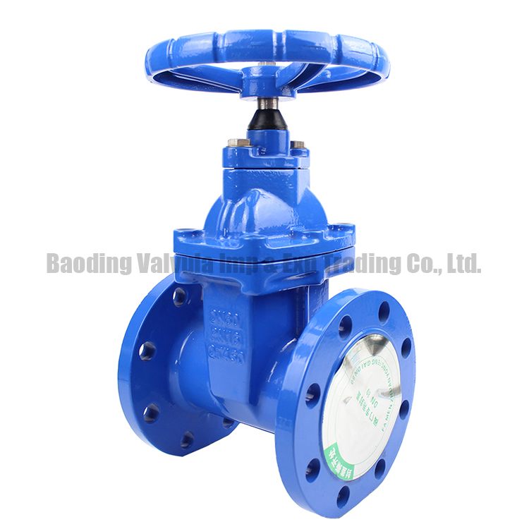 DIN standard non-rising stem direct buried gate valve