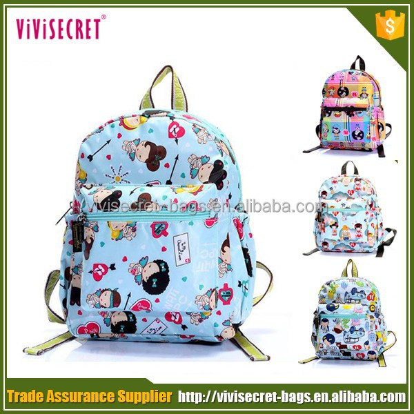 China factory custom kids cartoon picture of school bag