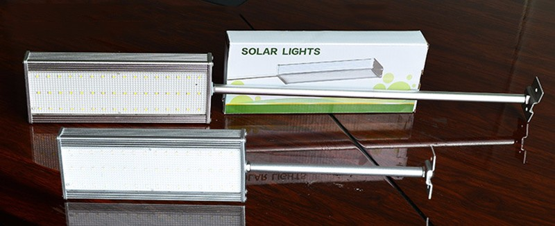 Outdoor Waterproof IP65 Solar Powered LED Street Light Garden Light With Motion Sensor