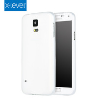 X- Level Hot Selling TPU Slim Phone Case White Mobile Cell Cover for Samsung Galaxy S5
