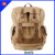 Canvas material custom LOGO men's canvas backpack