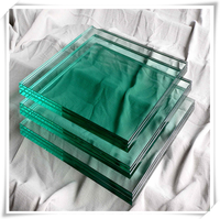 Jumbo size tempered glass laminated glass for building