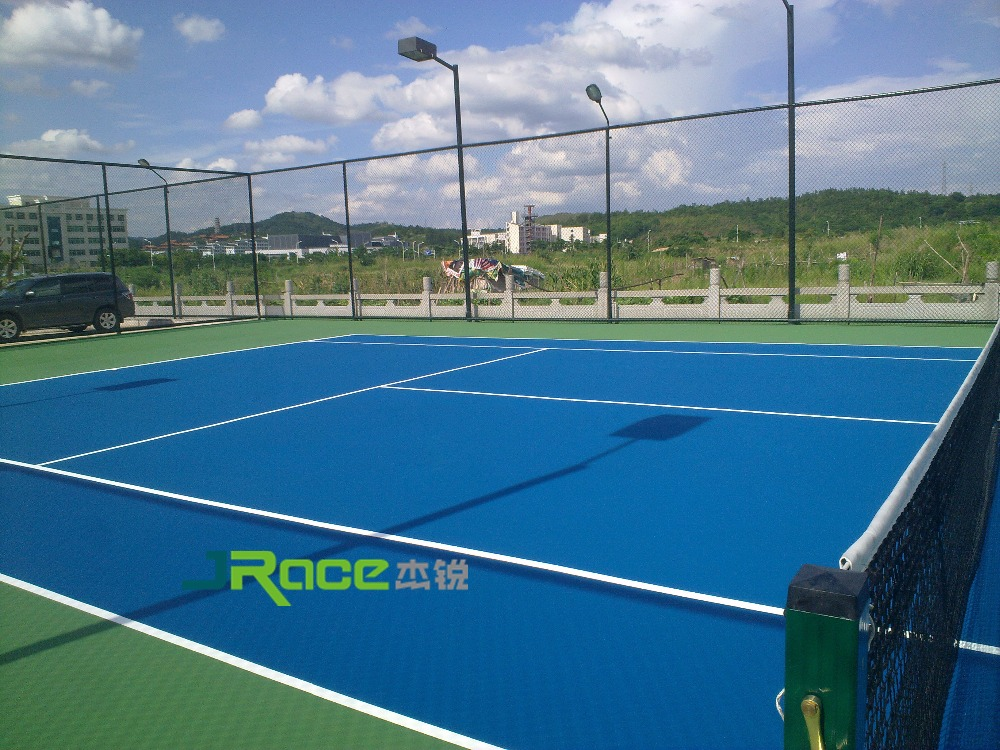 Single-Component PU Basketball Court Flooring Material