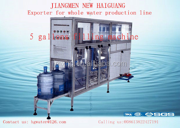 Good price, Good quality 5 gallon bottle 20 liter bottle washing,filling,capping machine