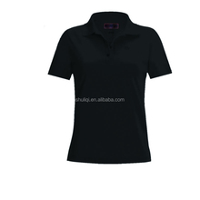 new design 100 cotton women's sexy t shirt polo slim fit polo t shirt for women