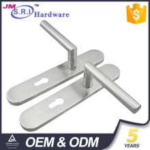 304 Stainless steel double side door handle lock cover plates