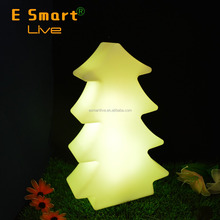 indoor decoration led tree lighting / snowing christmas tree / color changing christmas tree