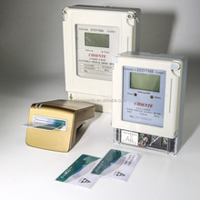 china supplier for DDSY7666 electronic watt-hour single phase prepaid electric <strong>meter</strong>