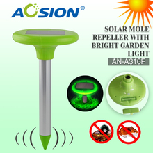 Aosion Electronic Mole Chaser/Solar Light Pest Repeller/Sound Waves&Vibration Rodent Repeller AN-A316F