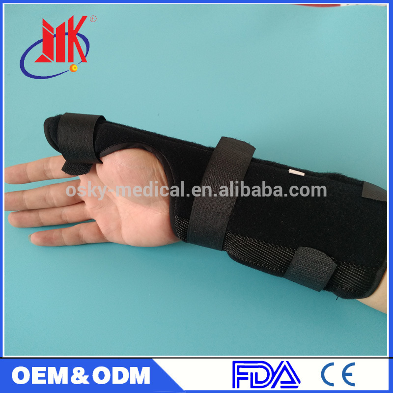 Medical magnetic therapy self heating wrist brace/ support Sports Injury Pain Relief