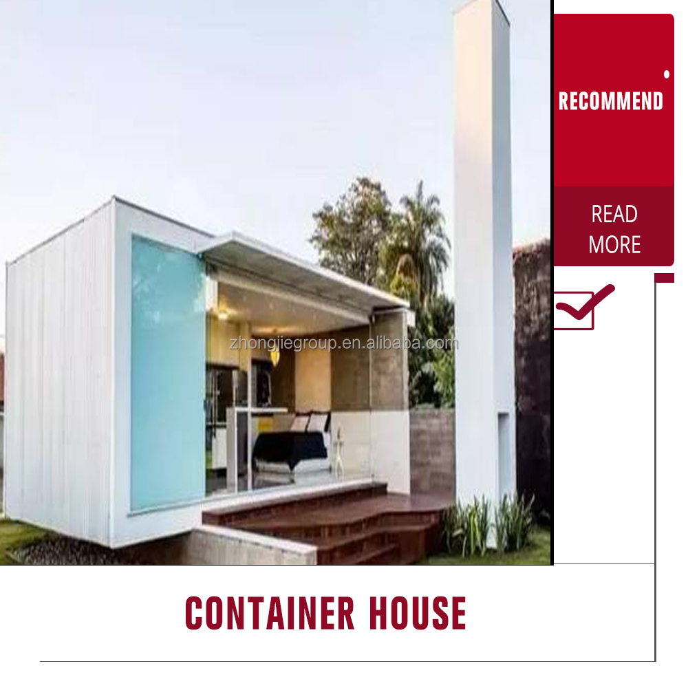 high standard comfortable luxury container home made in china