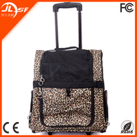 New Arrival Foldable Draw-bar Box Pet Product Dog Carrier Wholesale
