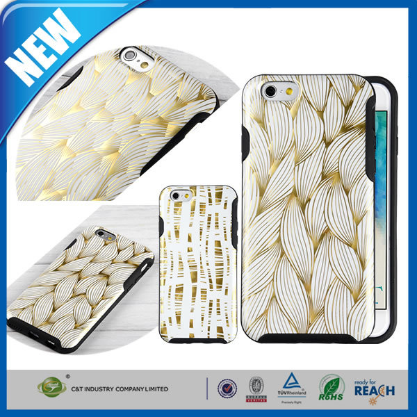 C&T Flexible TPU High Impact Soft Back Cover for iPhone 6/6s 4.7 inch