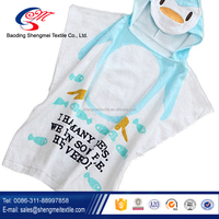 Fashion Best 100%cotton Super Soft Cute Baby Hooded Towels