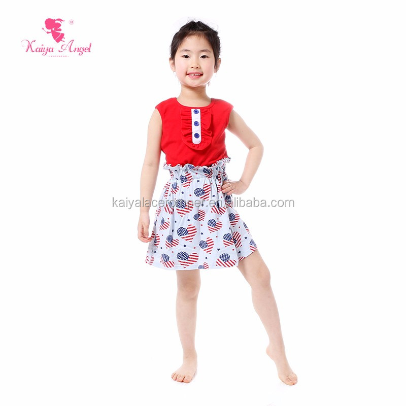 2 Pieces Skirt Sets Baby Boutique Wholesale Baby Girl Clothes Dress