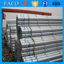 asme b36.10m hdg hot dipped galvanized steel pipe 141.3mm gi pipe