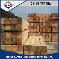 railway sleepers /wooden sleeper made in china
