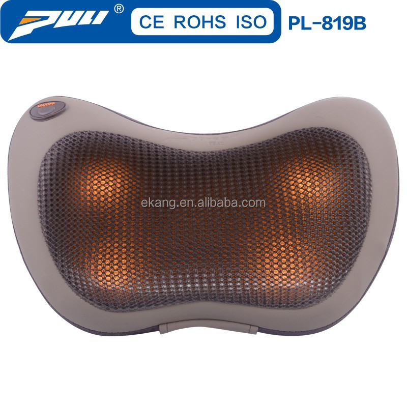 Car and home cool heat car seat massage cushion